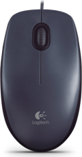 Мышь Logitech Mouse M90 Black USB черный